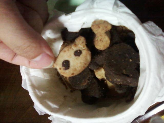 味噌ちゃんのクッキー。