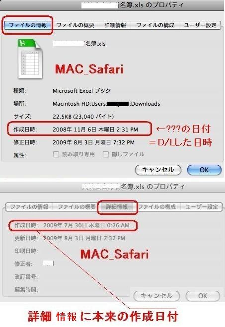 MAC-SAFARI