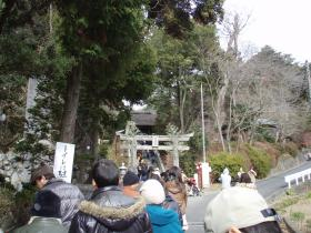 川匂神社初詣