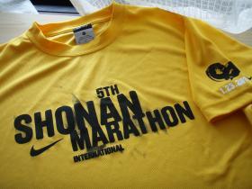 湘南マラソンTシャツおもて