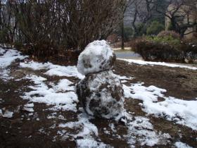 雪だるま?