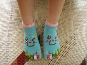 指付き靴下