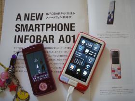 旧携帯とスマホ
