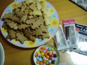 ジンジャークッキーたくさん