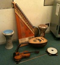 合宿 楽器たち