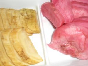赤かぶ酢漬け&大根漬物薫製