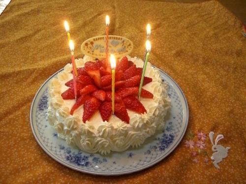 ケーキ 6歳
