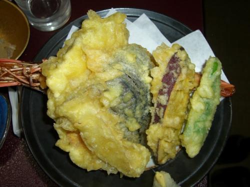 ふぐ料理 天ぷら