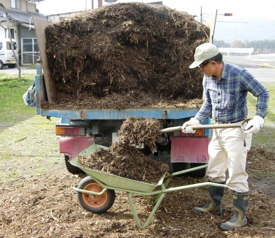 ぶどう園堆肥蒔き& 秋 002
