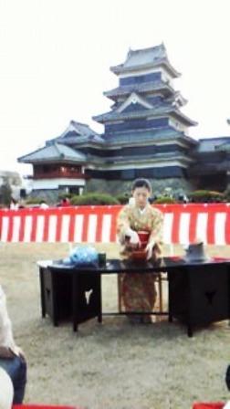 桜祭りお茶会、