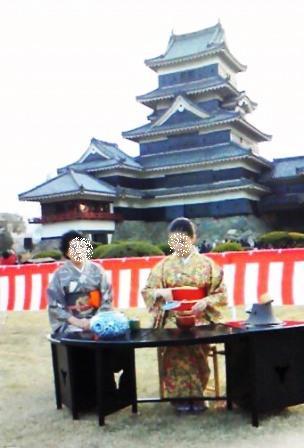 桜祭りお茶会