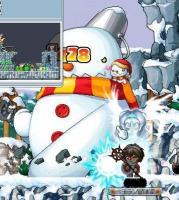 1月7日ーサブっ子プリvs雪だるま