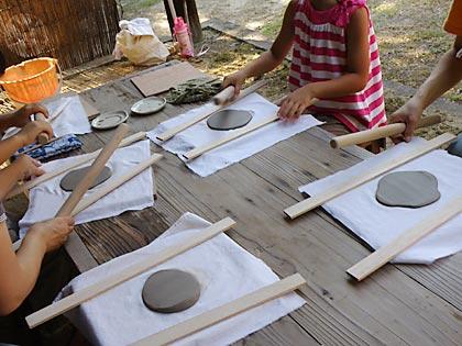 '10親子で陶芸体験1