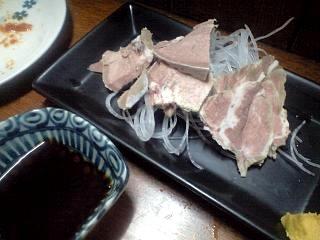 福田フライ(タン刺し)