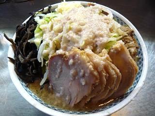 ラーメン大蒲田支店(大盛りチャーシュー麺上から2)
