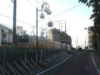 さぬ散歩多摩川線(多摩川線電車)