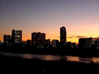 武蔵小杉の夜景(その2)