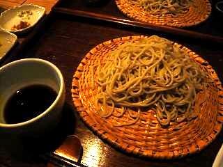 眠庵(蕎麦2種盛りその1)
