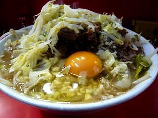 ラーメン二郎三田本店(小豚玉子2)