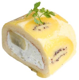 キウイロールケーキ