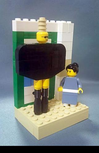 ガガ&哲子でレゴ