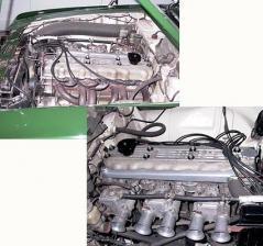 ヘミヘッド クロスフロー エンジン