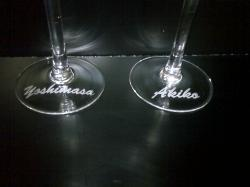 ワイングラスネーム