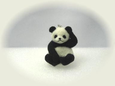 パンダのストラップ
