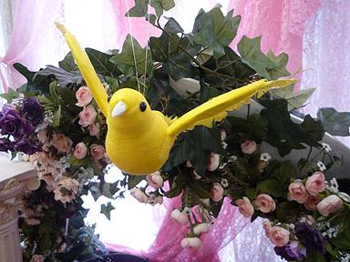 りっくんと黄色い鳥