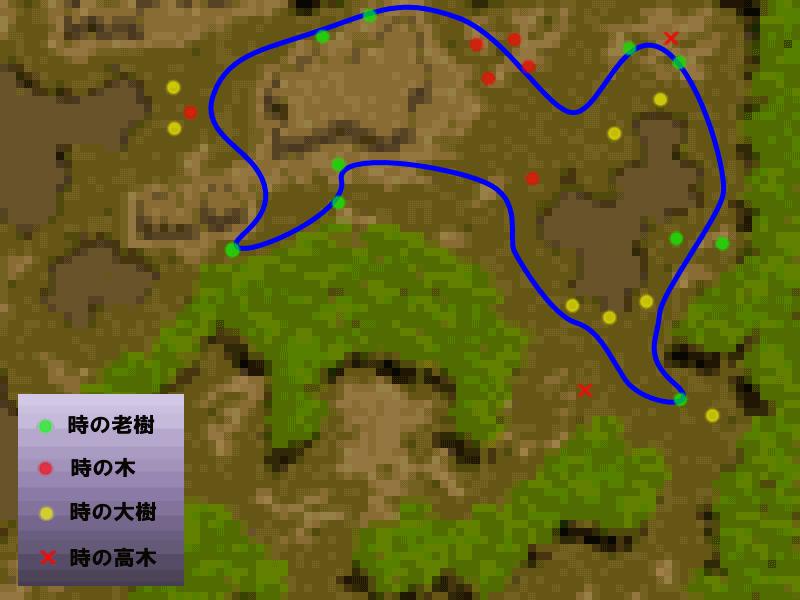 狩りルート