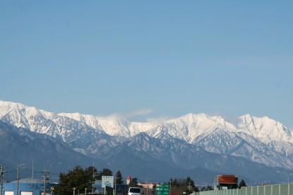 美しい山なみ♪