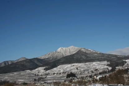 ほんの少し雪景色
