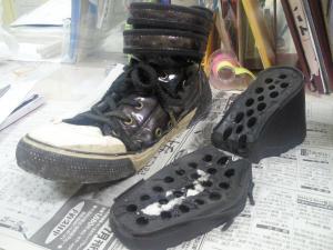 69な靴を作る