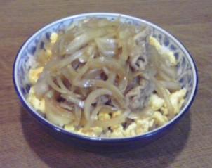 ポークジンジャー丼