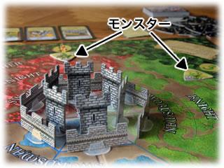 キャッスルパニック:城に迫るモンスターたち