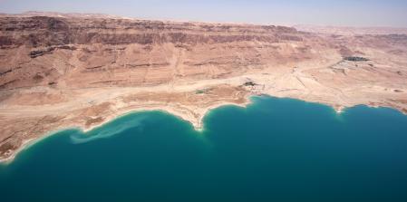 the Dead Sea  J
