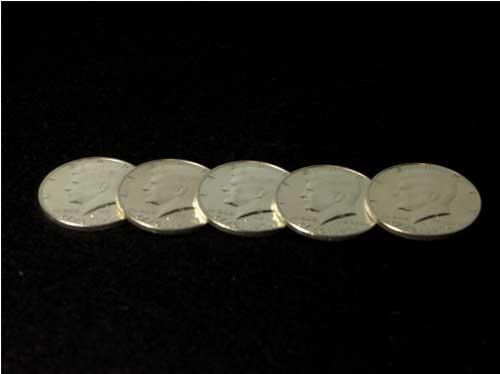 ケネディ ハーフダラー 1964年 90%Silver シェルセット1