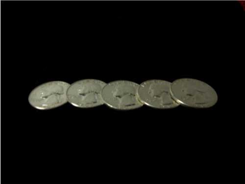 25セント  90% Silver Quarter シェルセット