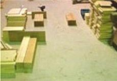 木工教室準備中