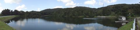原山大池全貌