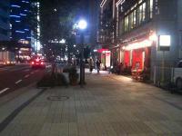 某繁華街背景