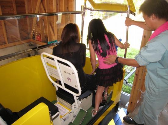 2009/08/17奥祖谷モノレール乗り込み