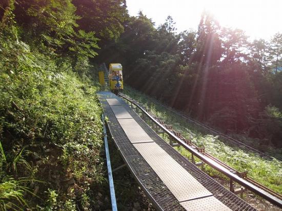 2009/08/17奥祖谷モノレール帰り
