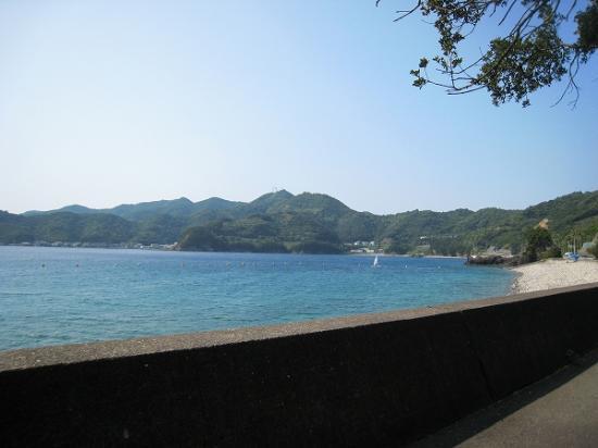 2009/08/31須ノ川公園海水浴海1