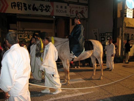 2009/10/10金刀比羅おとうか乗馬1