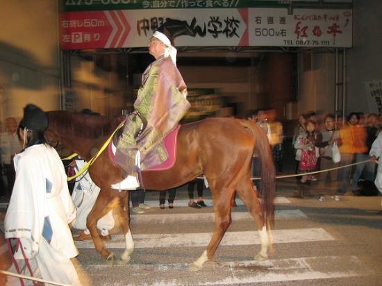 2009/10/10金刀比羅おとうか乗馬2