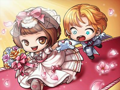 結婚式^^