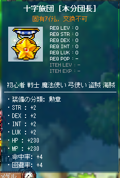 旅団の勲章