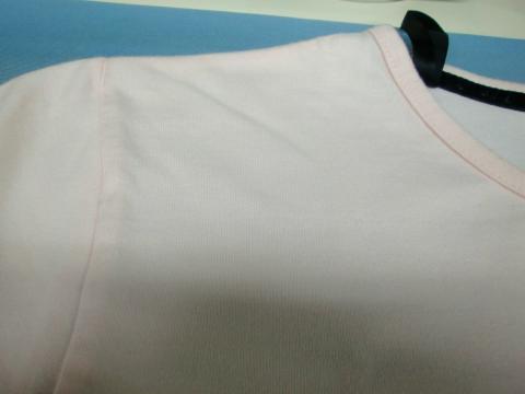 ピンクTシャツ20111006後3