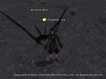 このコウモリをいっぱい倒してピュラクモン退治の下準備